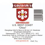 Drożdże Gozdawa U.S. West Coast Chico - 10g