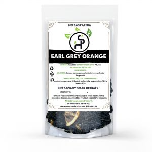 Herbata czarna EARL GREY ORANGE - 1KG