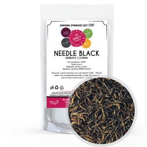 Herbata czarna Needle Black - 100g